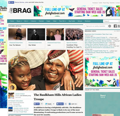 The Brag Feb 2015 | Baulkham Hills African Ladies Troupe